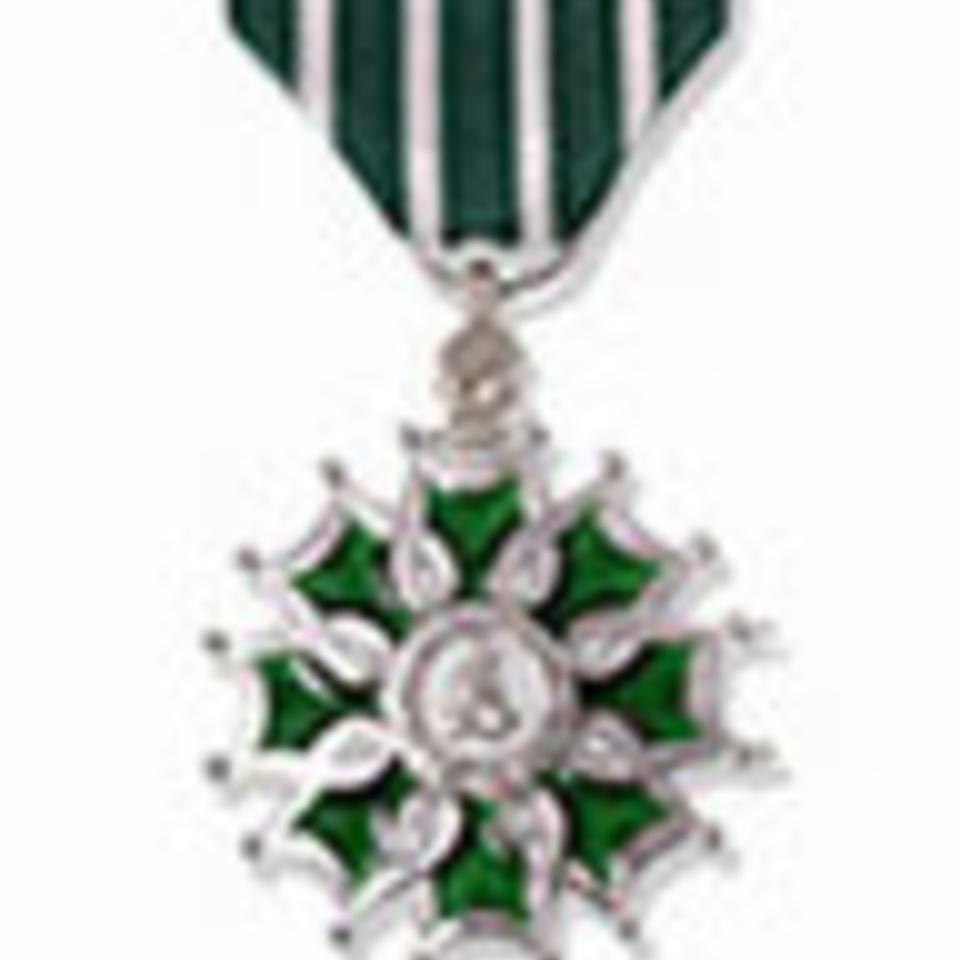 Chevalier des Arts et des Lettres