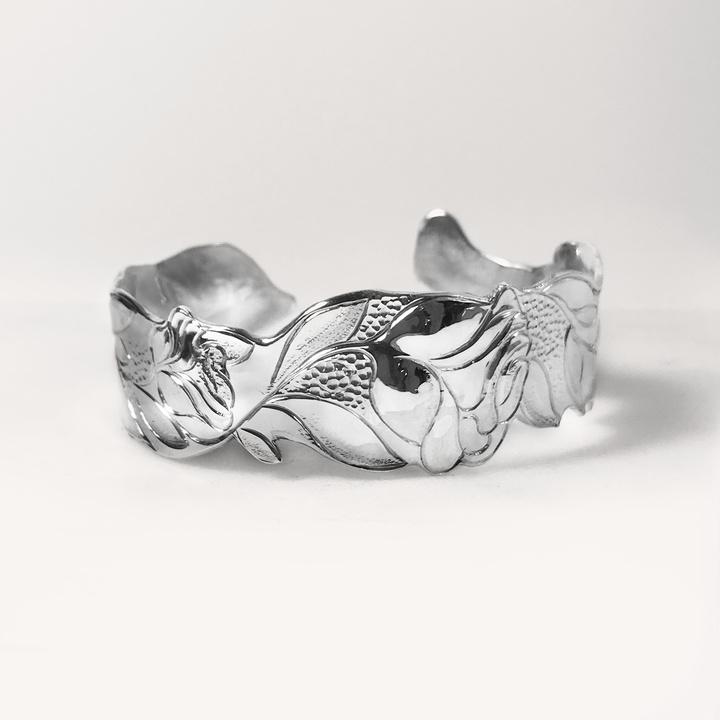 Bracelet Manchette Rose 25 mm