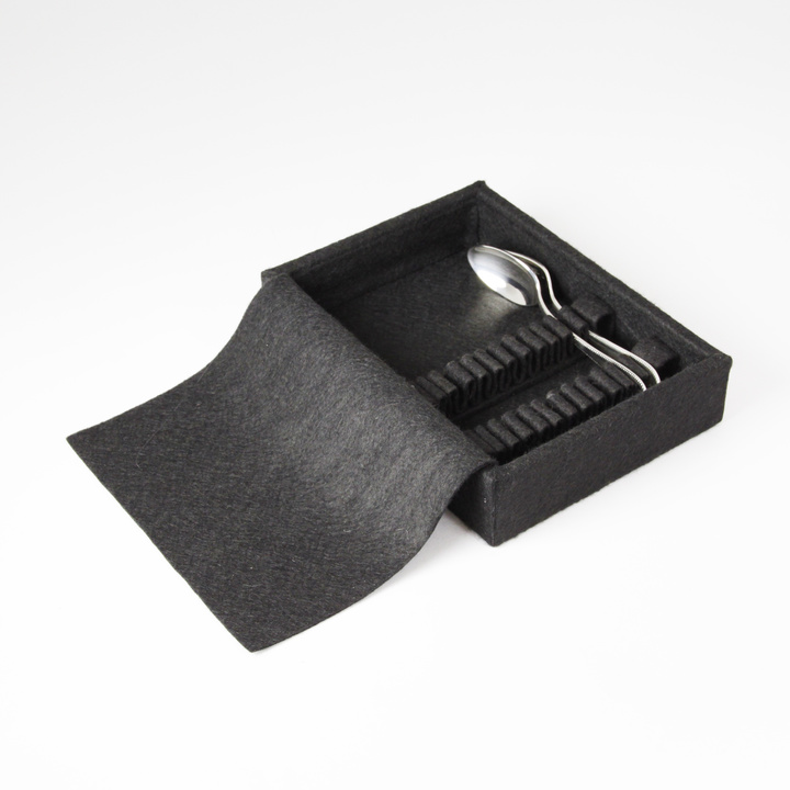 12-coffee spoons drawer storage insert