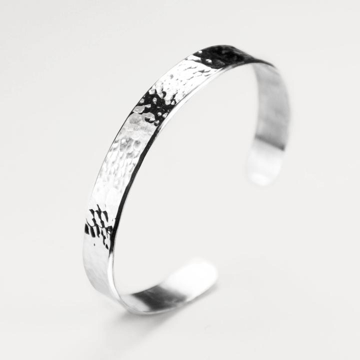 Bracelet Martelé 10 mm