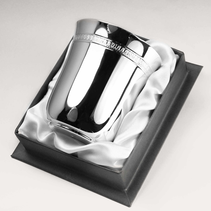 Timbale empire argent massif 925