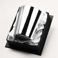 Timbale Droite unie argent massif
