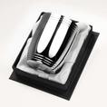 Timbale Tonneau 3 filets haut et bas en métal argenté